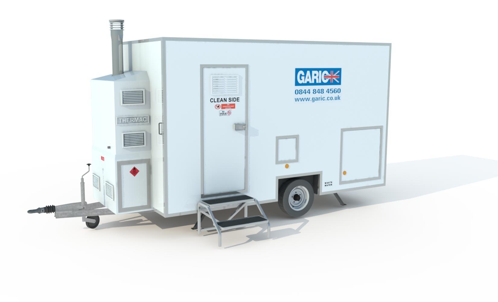 Twin Shower Decontamination Unit-0