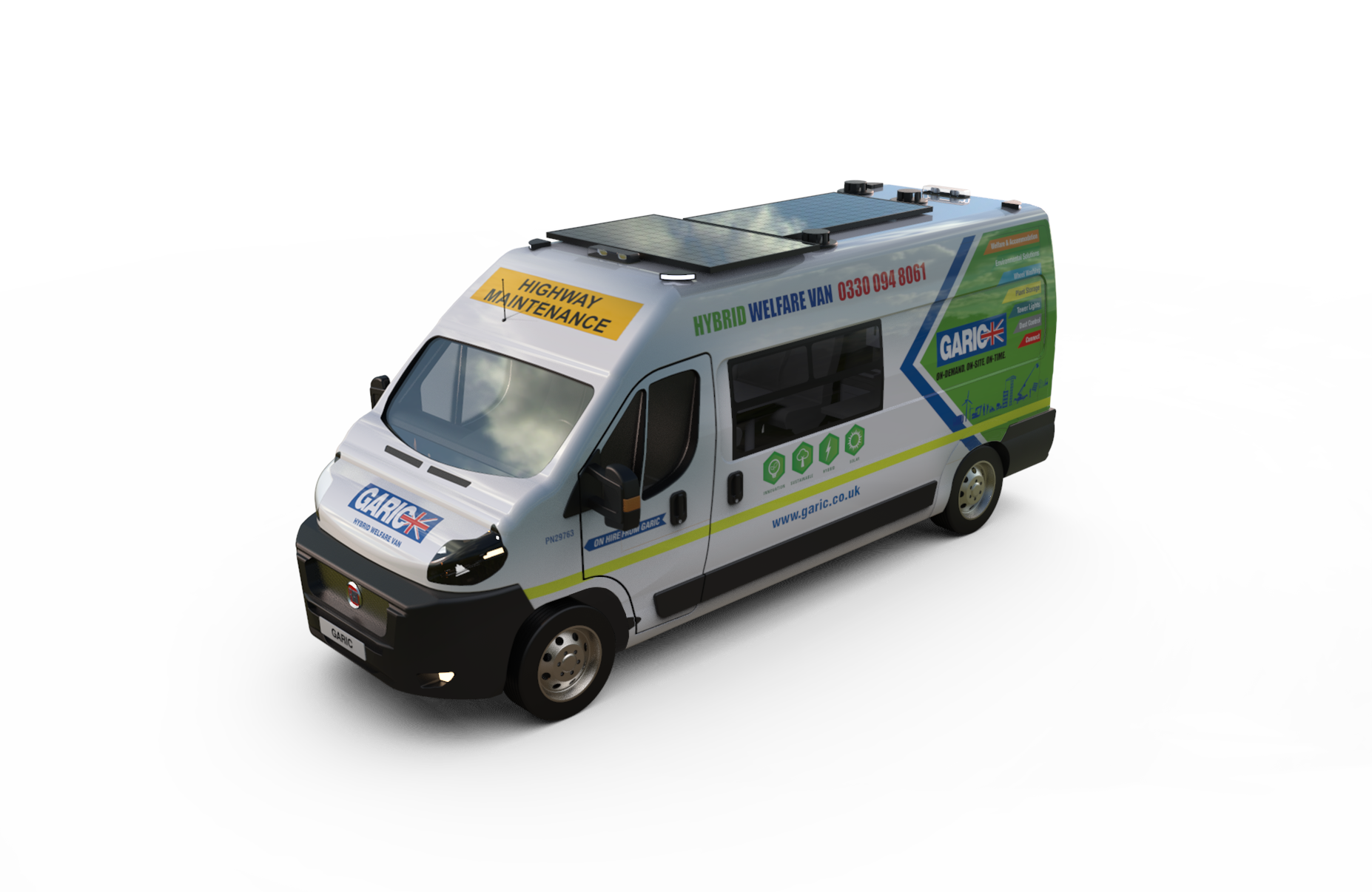 Hybrid Welfare Van-0